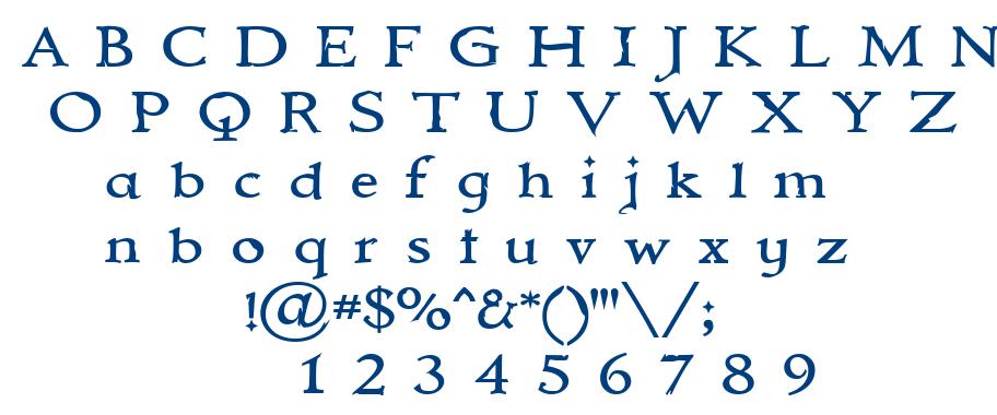 Mmortal font