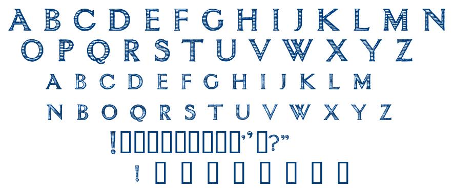 Ntimacy font
