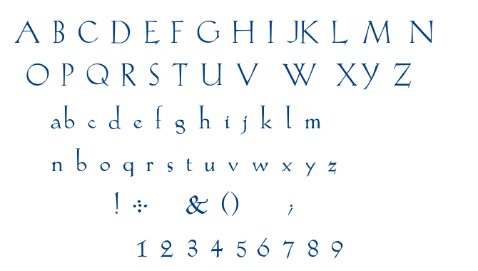 Kochread font