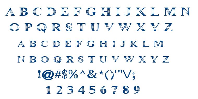 Maranall font