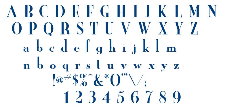 Newyorkr font