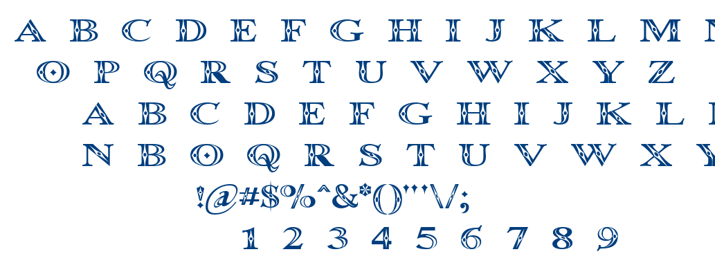 Occoluch font