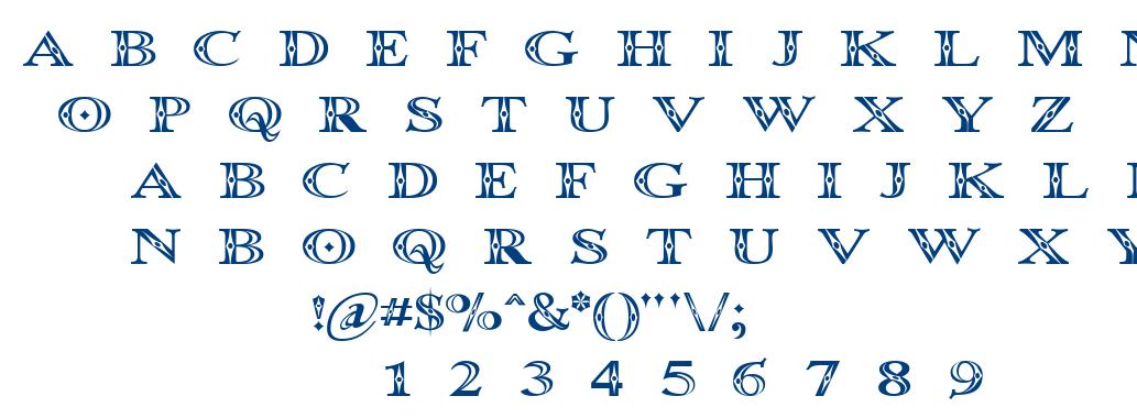 Occoluch font