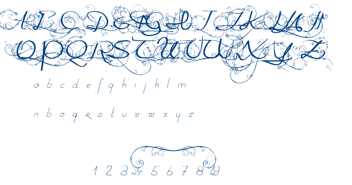 One day before rain font