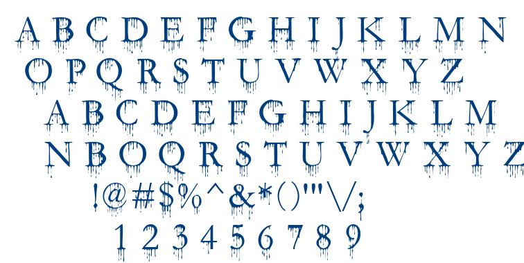 Sfgushingmeadowsc font