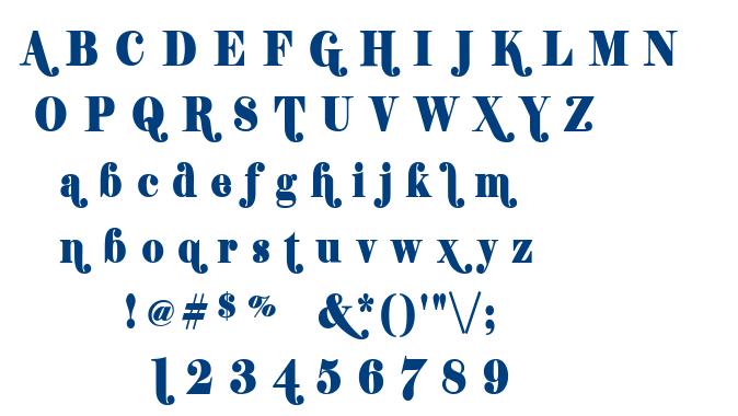 Shifty font