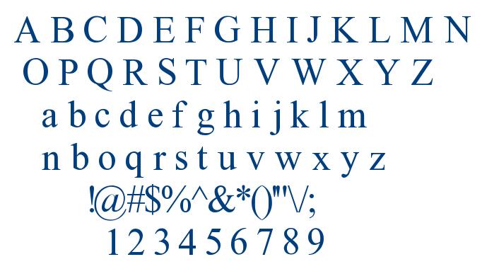 Tempnou font