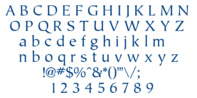 Tiplo font