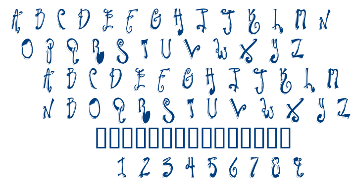 Twilight Express font