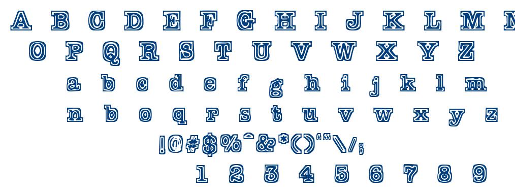 Typeb font