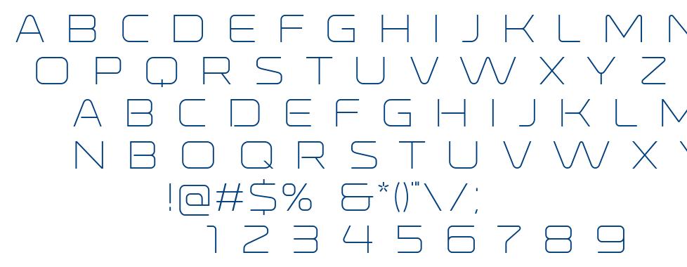 Ronduit Capitals font
