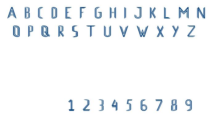 Axel font