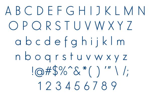 Elegant Lux Mager font