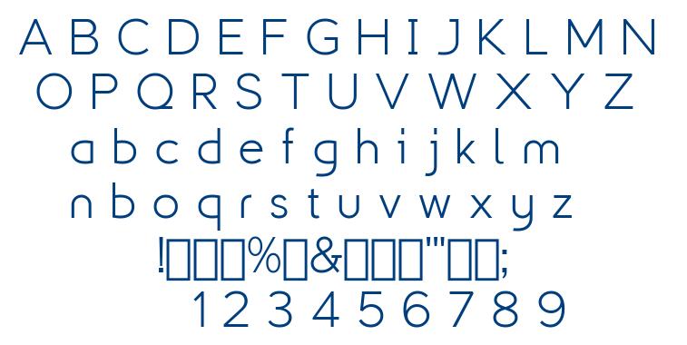 Explogos font