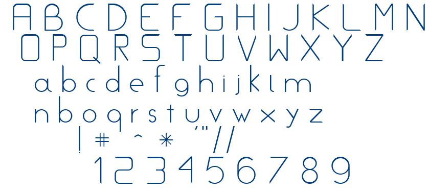 Metrik font