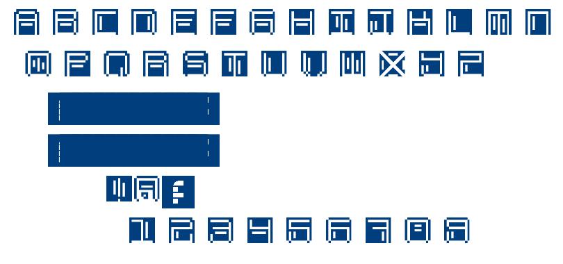 OHMU font