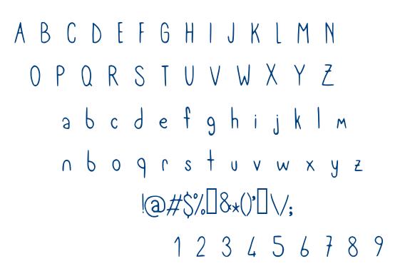 Meryjane font