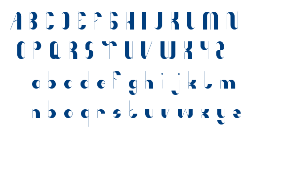 Anything Mean Everything font