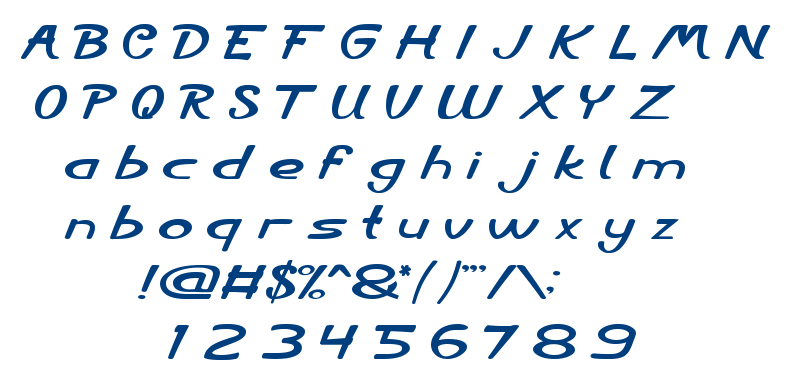 City Shine font