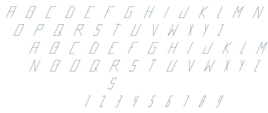 Futrista font