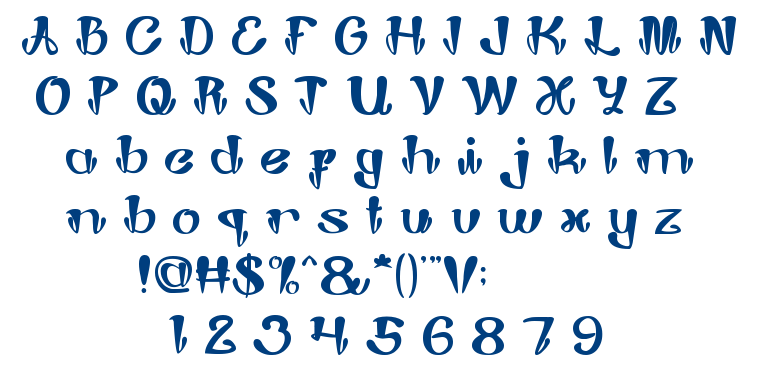 Joker Shoes font