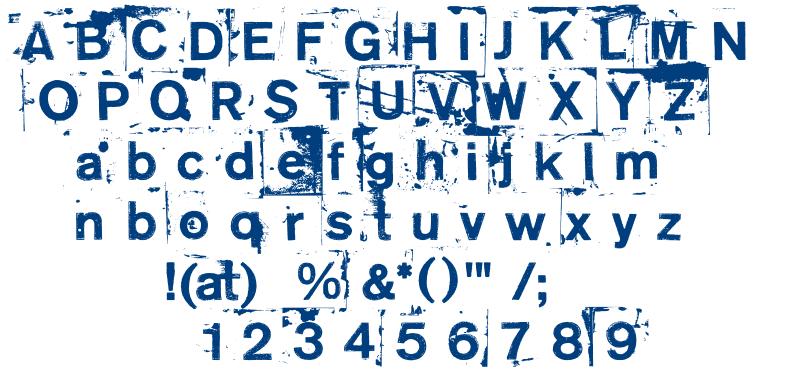 Neoprint m319 font