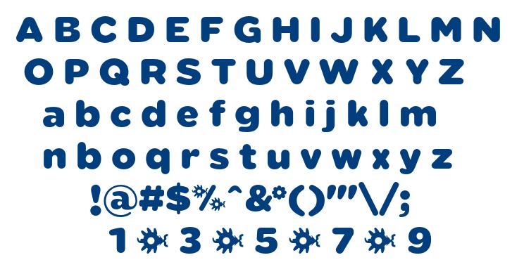 Sabandija font