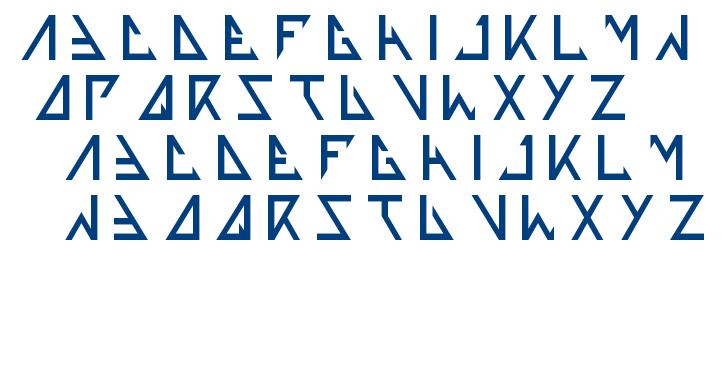 thetrainingartist font