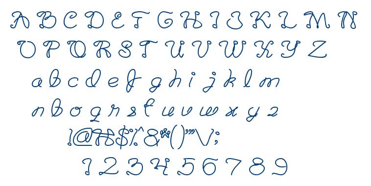 The Good Life font