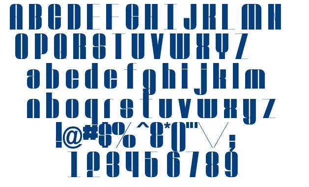 Voguer font