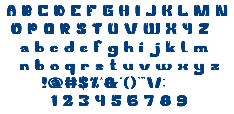 WELCOME TO THE JUNGLE font