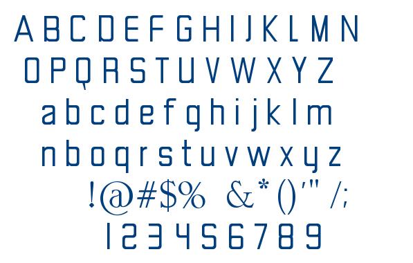 Goody font