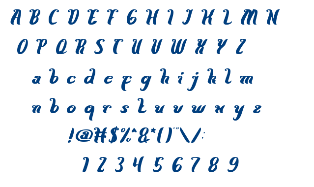 Here Comes The Sun font