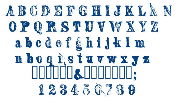 Sexton serif font