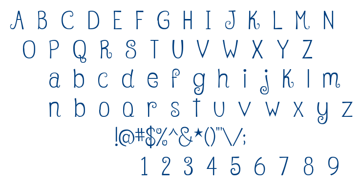 Betty font