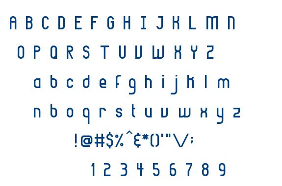 Highbrow font