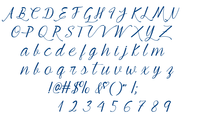 Young Beautiful font