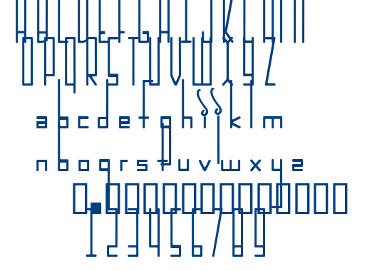INCARNAT font