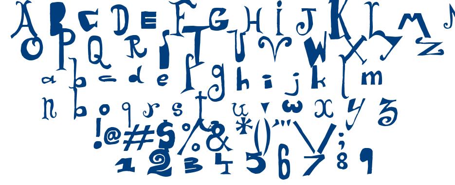 Arlequin font