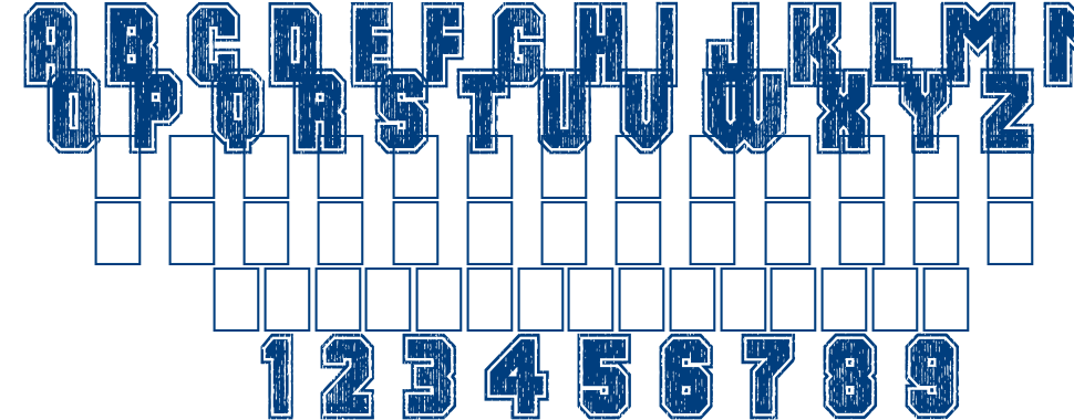 Dirty bowl 86 font