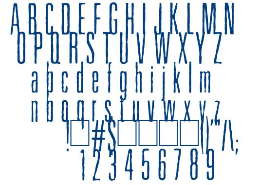 Higher font