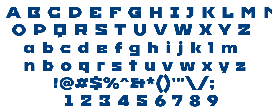 Mperial One font