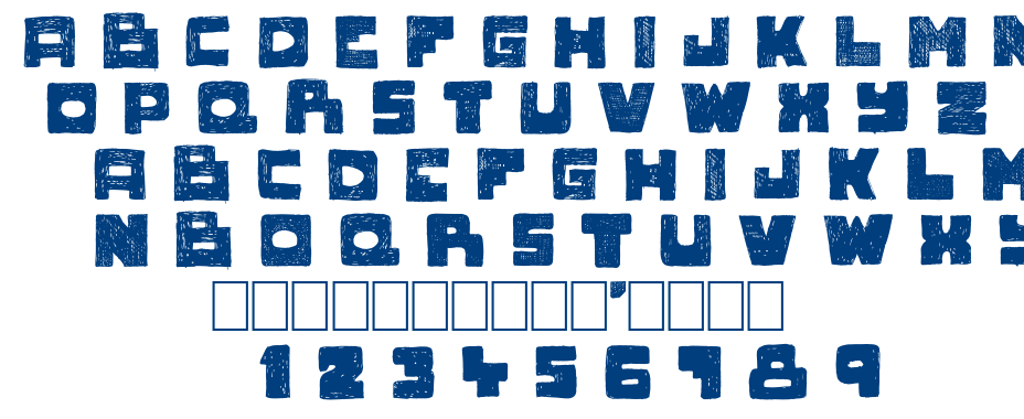 Novlang font