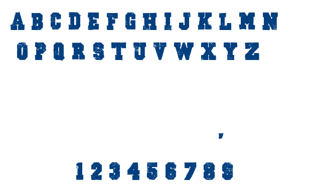 Outlaw stars font
