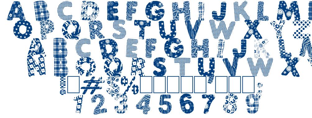 Atchfun font