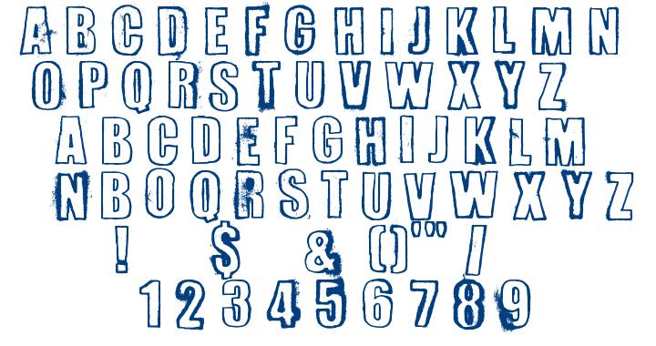 Erversionist font