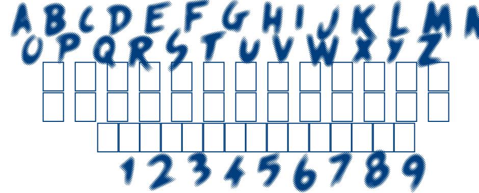 Quicksands font