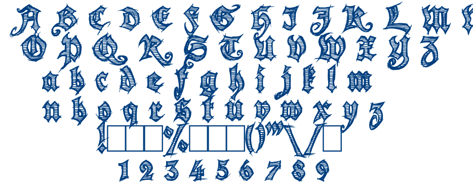 Season of the witch font
