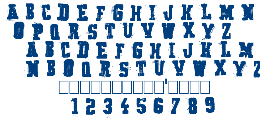 Secret agency font