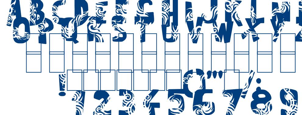 Tuamotu font